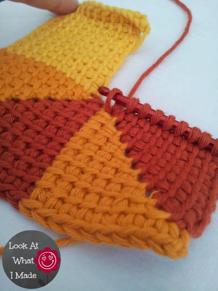 Tunisian Crochet Ten Stitch Blanket Pattern