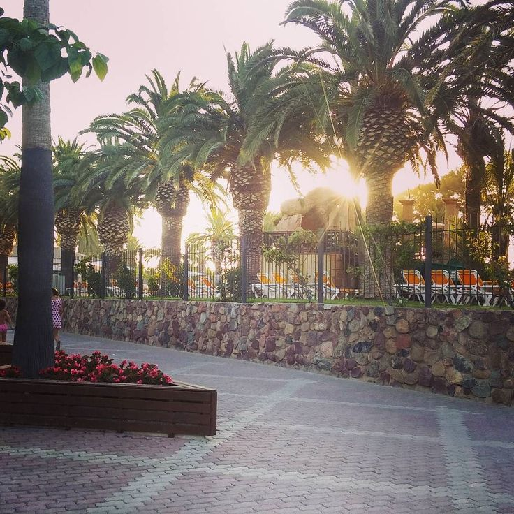 A luxury #camping and resort site in Salou Catalonia: waterpark pools sports fields etc.