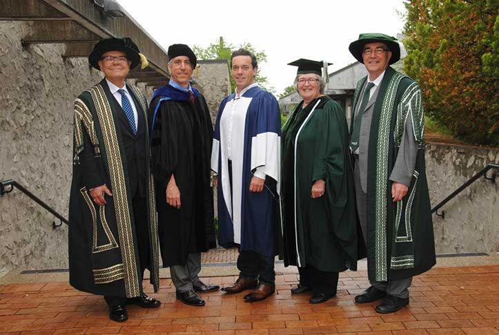 Tuesday, June 3, 2014 - 10:00 a.m. Convocation Ceremony: Dr. Don Tapscott, Dr. Mike Alcott, Joseph Boyden, Anne and Dr. Steven Franklin