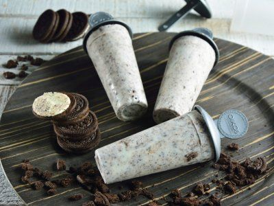 Paleta Helada de Cookies and Cream