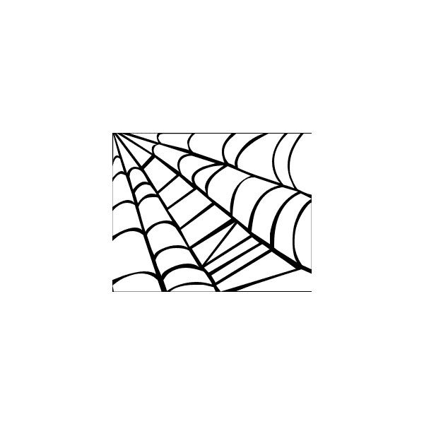 Free Spider Web Clipart - Public Domain Halloween clip art, images and... ❤ liked on Polyvore