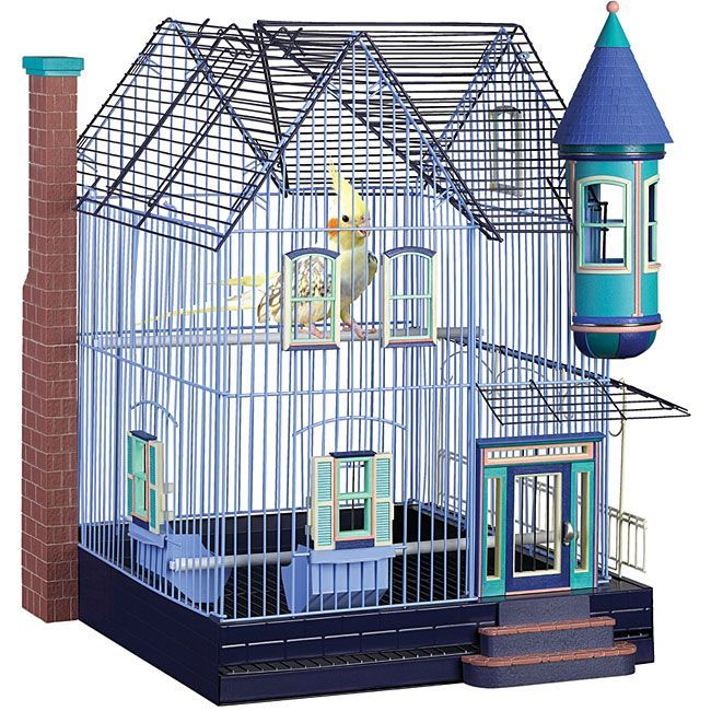 Featherstone Victorian Parakeet/ Cockatiel Home | Overstock.com Shopping - The Best Deals on Bird Cages & Houses
