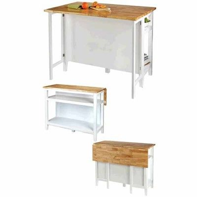for living kitchen island with folding leaf furniture