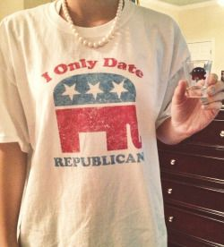 """bostonbelles:  ncgentleman:  eastcoastlovely:  nyc-prepster:  northcarolina-class:  rightwinged:  s0wingseas0n:  louisianaprep:  """"I only date Republicans""""  """"I only date selfish, woman/poor/minority hating people.""""  If you checked your facts instead of being ignorant, you would know that Democrats filibustered the Civil Rights Act on June 10th, 1964. It was the Republican party who pioneered the right of women to vote. Sen. A.A. Sargent (R) was the one who introduced t..."""