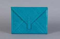 naomi levi oversized leather envelope clutch on sale for $180 | threads and style