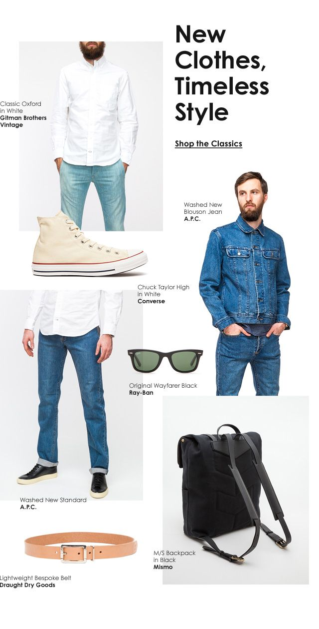 New Clothes, Timeless Style newsletter
