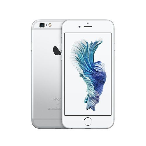 iPhone 6s by Apple. Apple iPhone 64GB Silver 6S Plus Smartphone comes with a 5.5 inch screen resolution of 1080 x 1920 pixels and the operating system iOS 9. The Smartphone is equipped with dual-core processor 1.84 GHz, 2 GB of RAM memory and 64 GB internal. This smartphone is equipped with a capacity of 12 MP camera (rear) and a 5 MP (front), as well as equipped with battery capacity of 2915 mAh. http://www.zocko.com/z/JKBLD