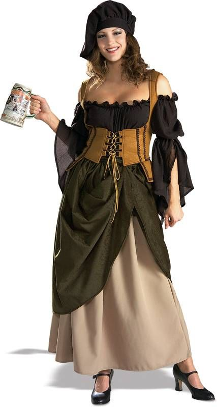 Tavern Wench Costume for Adults | Renaissance Wench Costume Deluxe