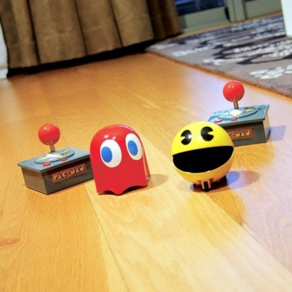 Ghosts Chase Pac Man Across Your Living Room With Remote Controlled Racers