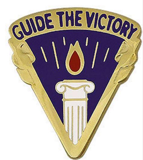 354th Civil Affairs Brigade Unit Crest (Guide The Victory)