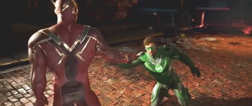 Injustice 2 Flash and Green Lantern