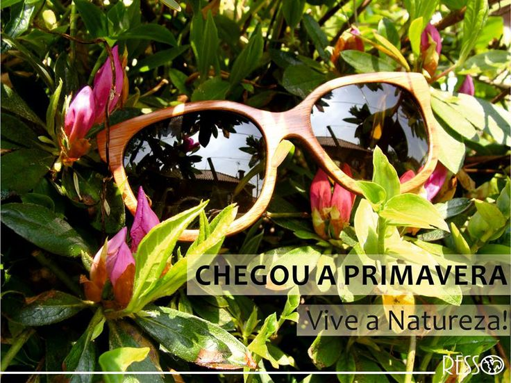 Wooden sunglasses. Made in Portugal.