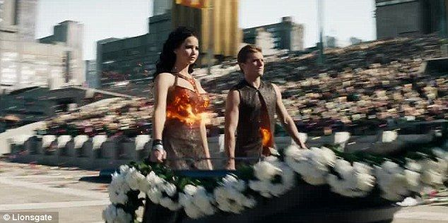 peeta catching fire chariot - Google Search | Hunger games ...