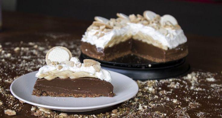 Μπανόφι με σοκολάτα από τον Άκη. Μια εύκολη και γρήγορη συνταγή για το αυθεντικό αγγλικό γλυκό Banoffee!