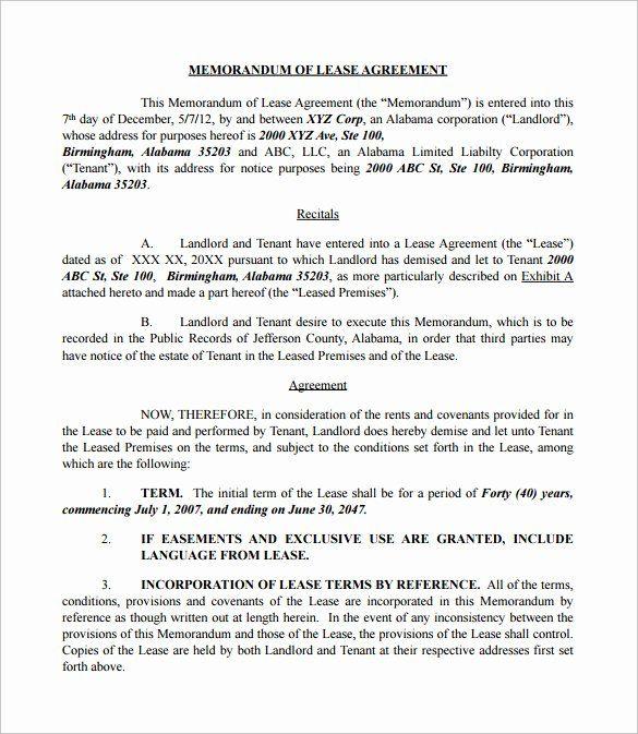 Memorandum Of Understanding Sample Awesome Memorandum Understanding Sample In 2020 Memorandum Business Letter Example Business Letter Sample