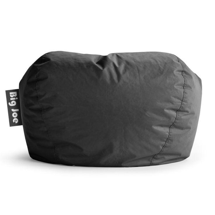 Big Joe 98 In Bean Bag Lounger Stretch Limo Black