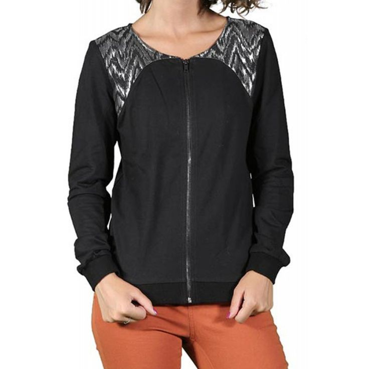 Cardigan Dama OBJECT Dorris Black