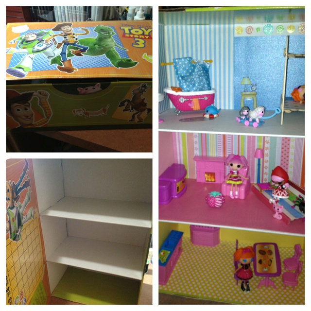 Make Your Own Lalaloopsy Doll House Cheap And Easy