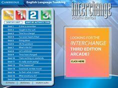 Interchange 4th Edition Arcade: Cambridge University Press - Level 2 Menu
