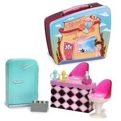 Bratz: Babyz Chill Out Lounge Playset by MGA Entertainment. $17.25. Bratz Babyz Chill Out Lounge Play Set. Chill out for a bit with this Bratz Babyz Lounge Playset, and then pack it up to use it as a lunchbox. This 2-in-1 playset goes from Chill Out Lounge to lunchbox in no time. Chill out with Babyz and share a frosty smoothie at the coolest lounge in town. It includes everything you need for your Chill Out Lounge - a refrigerator with a real opening door for your soft drink...