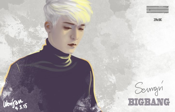 Fanart#Bigbang#made#loser#seungri