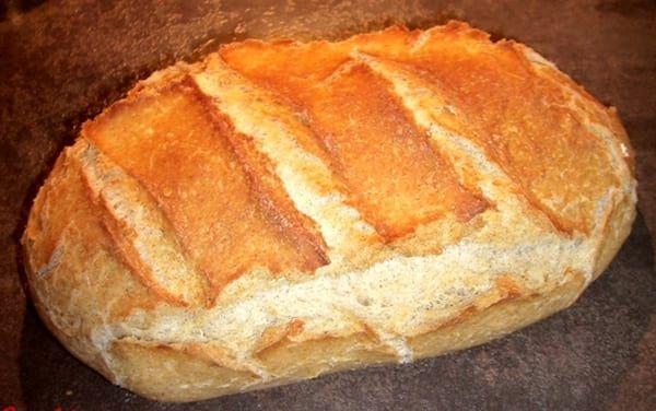 ingrédients pour faireun pain maison