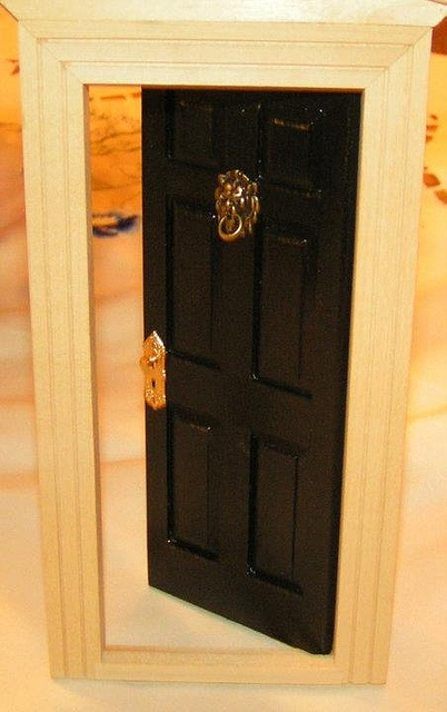 The new door painted by Sweetbriar Dreams, via Flickr