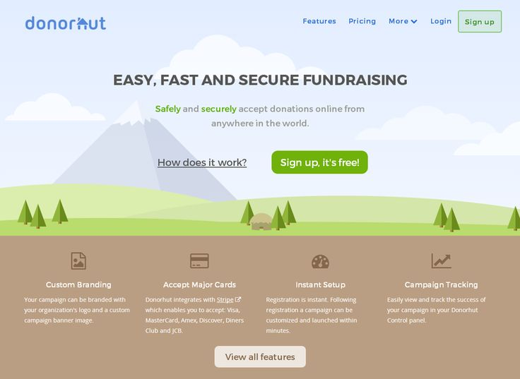Secure online fundraising