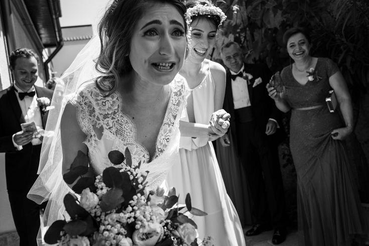 This bride is bursting with joy. #gettingready #wedding #hochzeit #weddingphotography #hochzeitsfotos #hochzeitsbilder #bride #braut #beautiful #schön #glücklich #happiness #itsalrightma