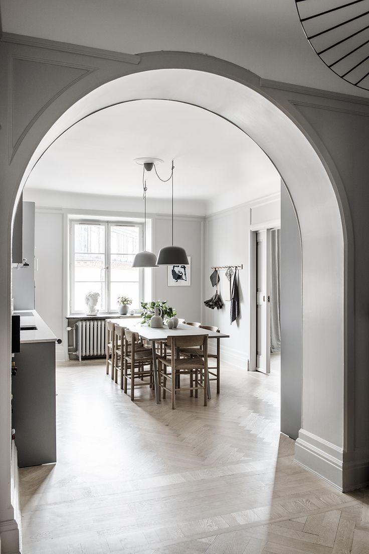 Stylish home in grey - via Coco Lapine Design blog
