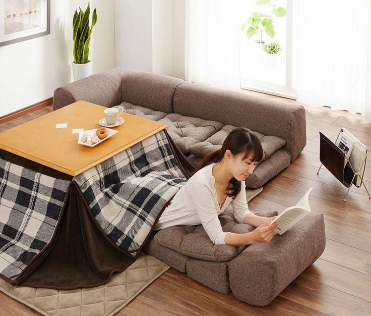 Japanese Coffee Table with Heater