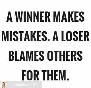 Blaming others regarding your situation is easy. Taking responsibility and the necessary action to change your situation is a bit hard... But if you don't make any mistakes means 2 things... Either you're doing nothing or you're dead... #makemoneyonline #onlinemarketing #mlmleadgeneration #businessopportunity #workfromhomedad #networkmarketingopportunity #makemoneymoney #laptoplifestyle #makemoneyathome #howtomakemoneyfromhome #onlinebusiness #rockyournetworkmarketingbusiness…