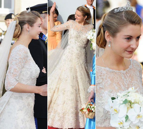 Luxembourg Royal Wedding - Stéphanie de Lannoy - Elie Saab wedding dress