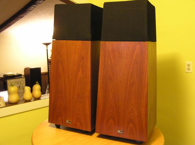 Ohm Walsh 4 Speakers Vintage Amp Newer Stereo Speakers I