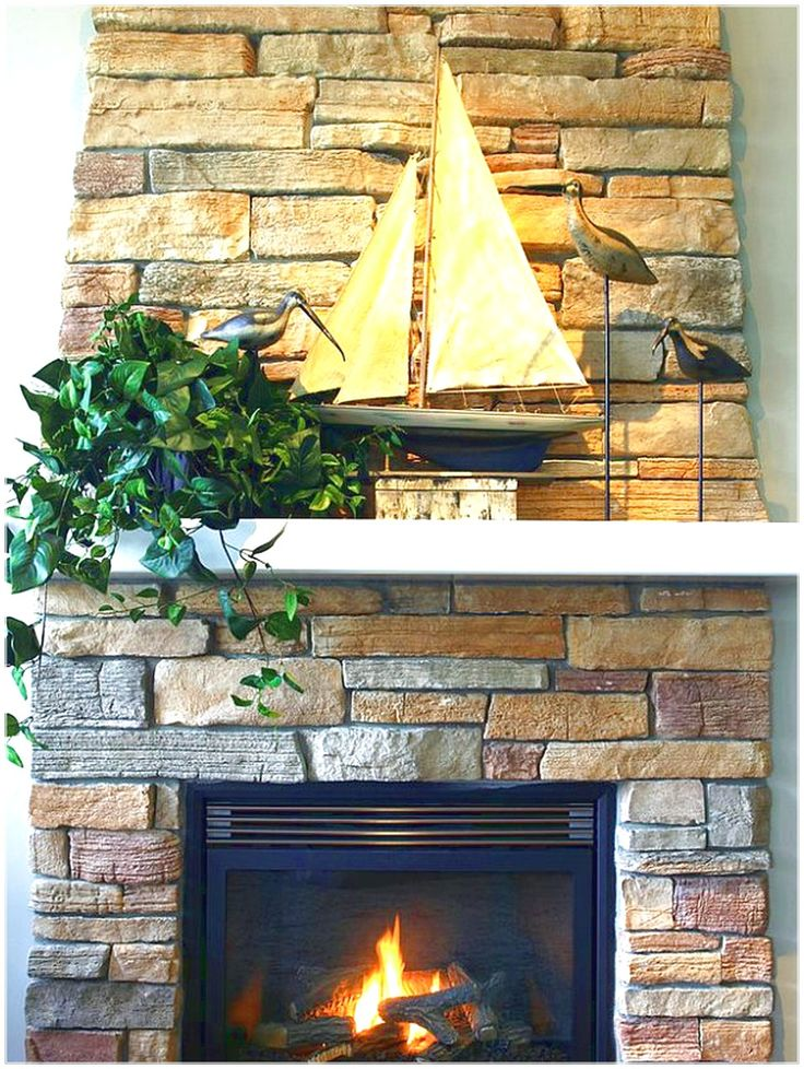 GET AN ATTRACTIVE LOOK WITH FIREPLACE MANTEL WITH ORNATE FIREPLACE WHICH HAS A SMALL BOAT