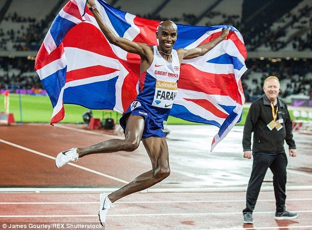 Great Britain's Mo Farah, winner of the 5000m and 10,000m golds at London 2012, is also a ...