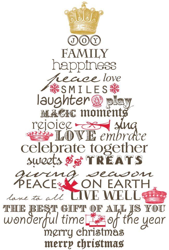 Christmas Tree print & frame