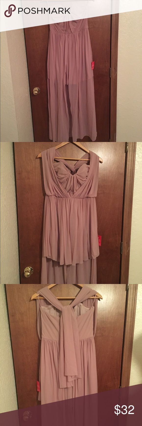 ASOS BLUSH PINK convertible prom dress!!! Size 8 NEW with the tag. Never worn once, I ordered from a British website and couldn't return it. Nothing wrong with it, just found one I liked more to wear. ASOS Dresses Prom