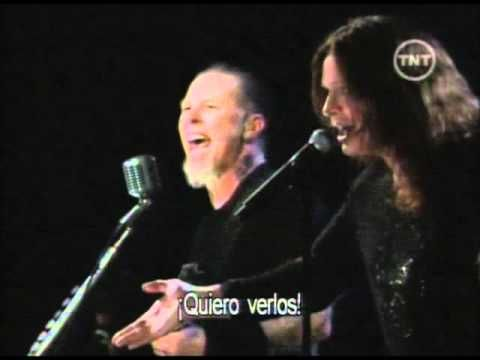 Metallica feat Ozzy Osbourne - Iron Man - Paranoid (Rock N Roll Hall Of Fame) - YouTube