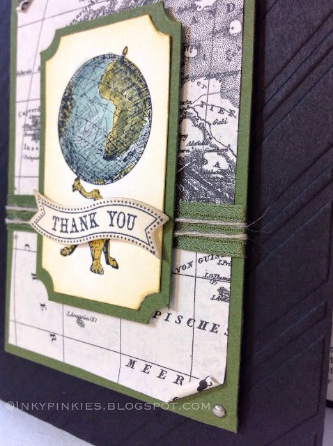 InkyPinkies: Masculine Thank You with Traveler
