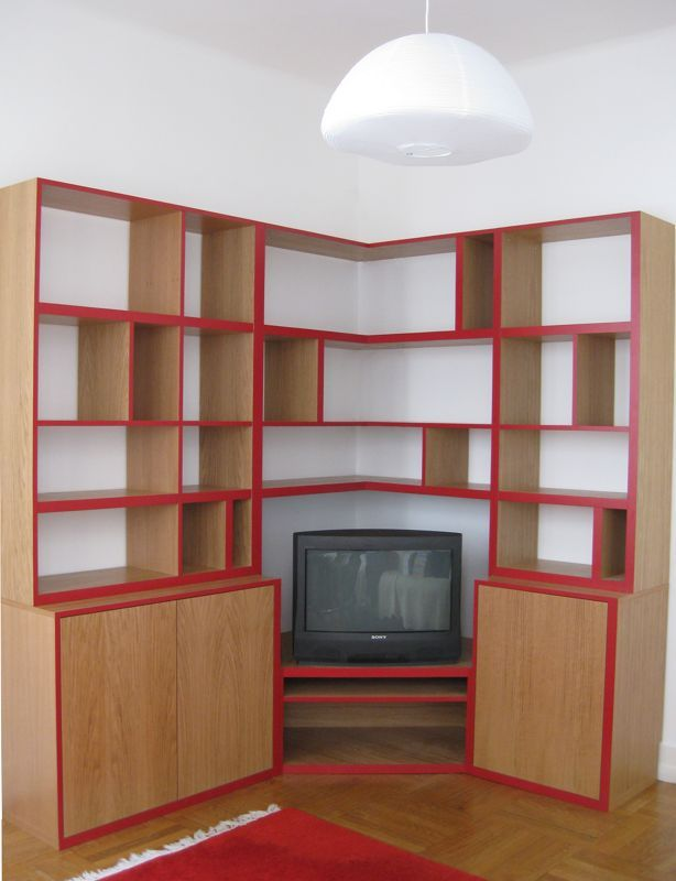 biblioth que et meuble cd ligne contours lisa lejeune r fs la fabrique pinterest. Black Bedroom Furniture Sets. Home Design Ideas