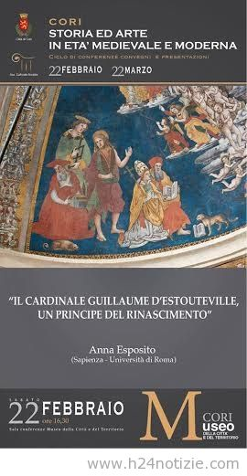MedioEvo Weblog: Guillaume d'Estouteville, un principe del Rinascimento a Cori (LT)