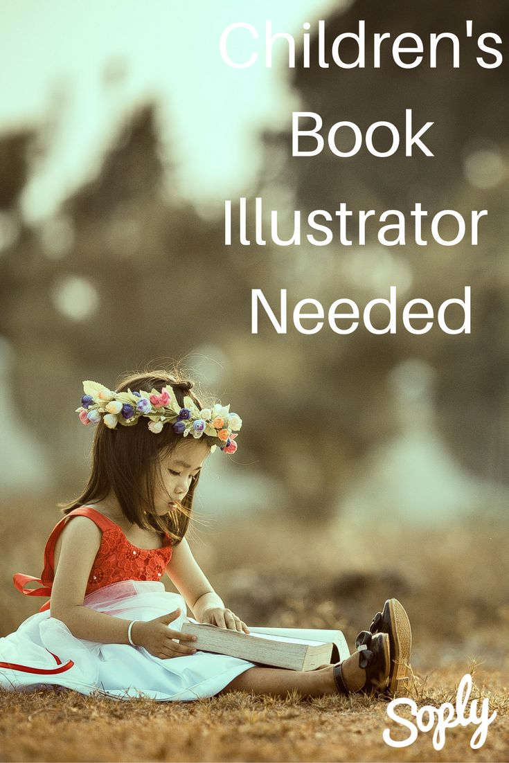 Children's book illustrator needed for character development. The client would like 3-5 illustrations of the main character. See the illustration job and apply by clicking the pin!
