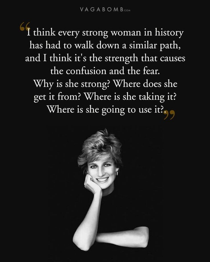 """Life is just a journey."" - Princess Diana"