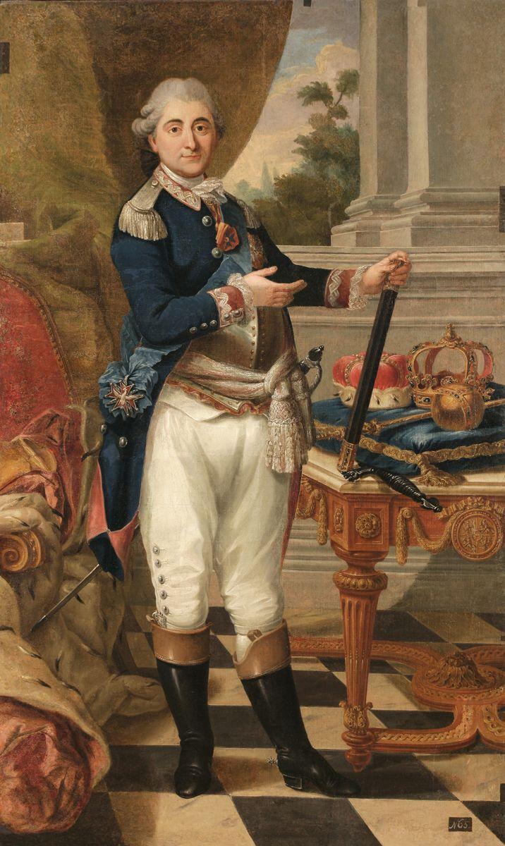 Stanisław August mal.Józef Heski 1783