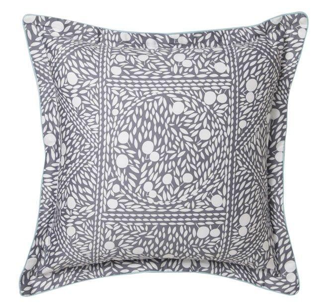 Finn 45x45cm Filled Cushion Silver   Manchester Warehouse
