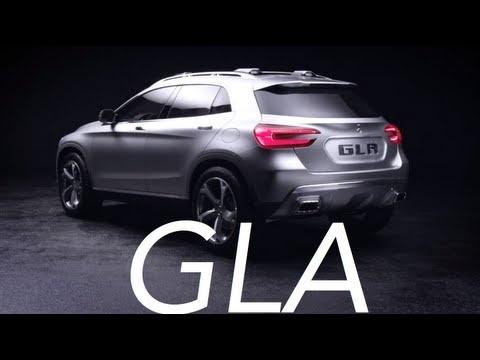 New Mercedes Benz GLA Concept Official Trailer