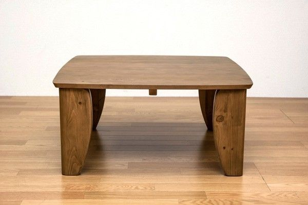 浮造り ちゃぶ台 幅75cm 折りたたみテーブル 正方形型 リビングテーブル 食卓テーブル - エイムキューブ画像3