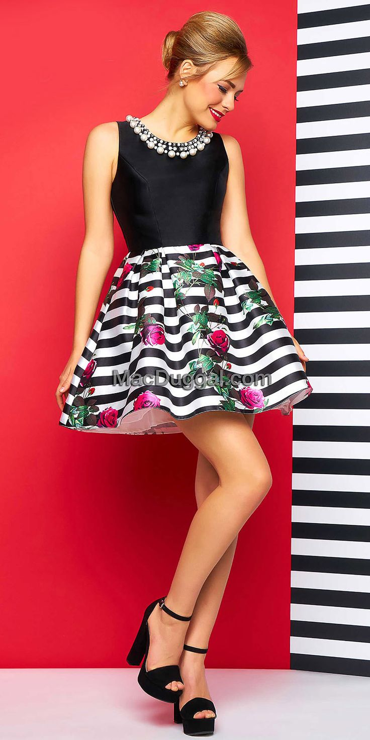 Best 25  Striped cocktail dresses ideas on Pinterest | Nautical ...