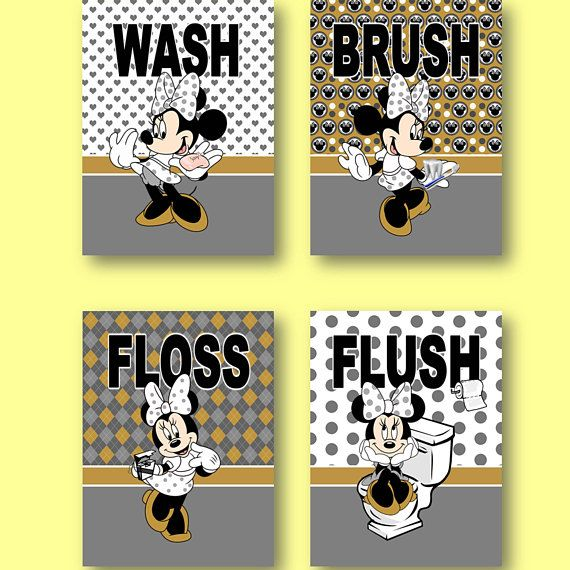 The 20 best Mickey Mouse Minnie Mouse Kids Wall Art images on ...